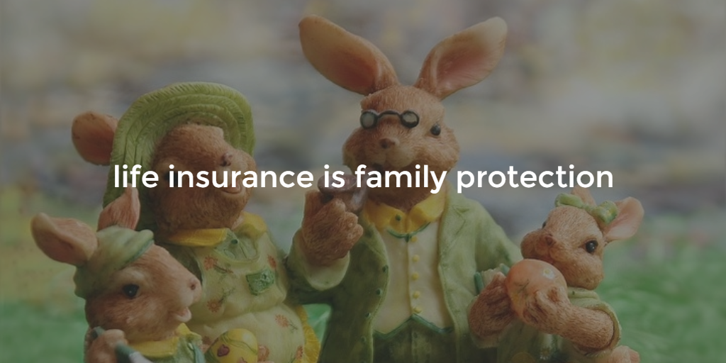 life insurance is family protection blog image