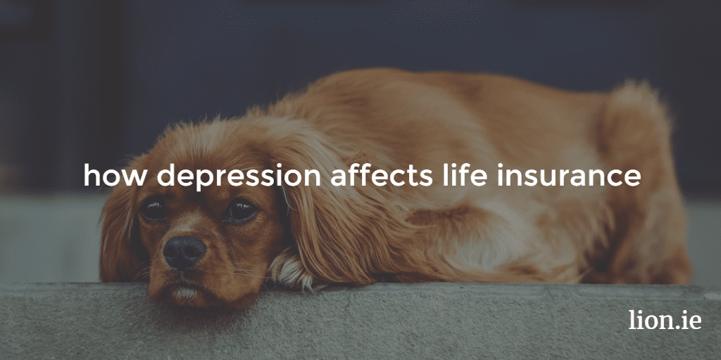 how depression affects life insurance