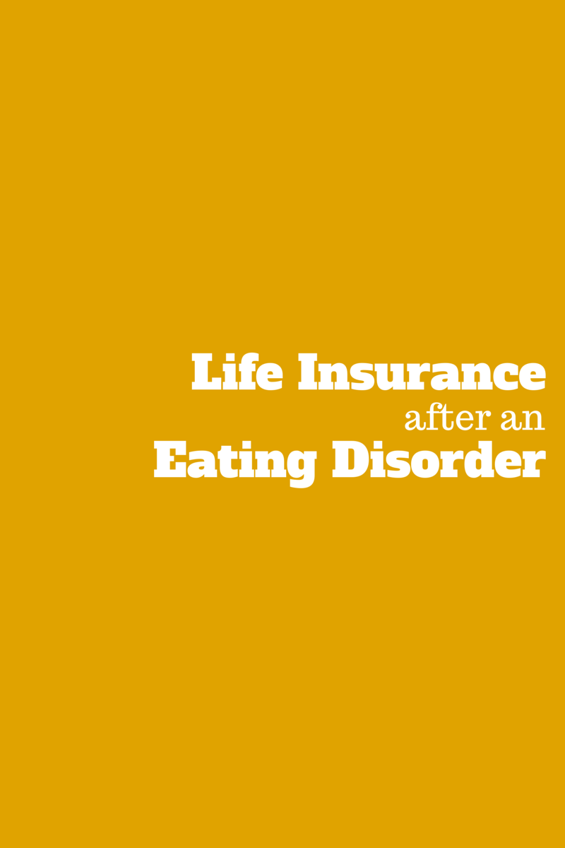 life insurance with an eating disorder