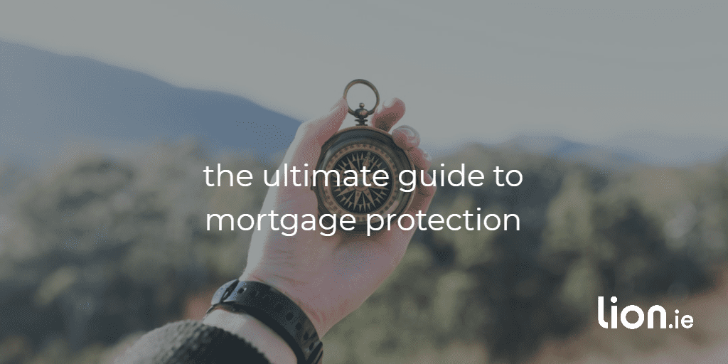 guide to mortgage protection text on a compass image