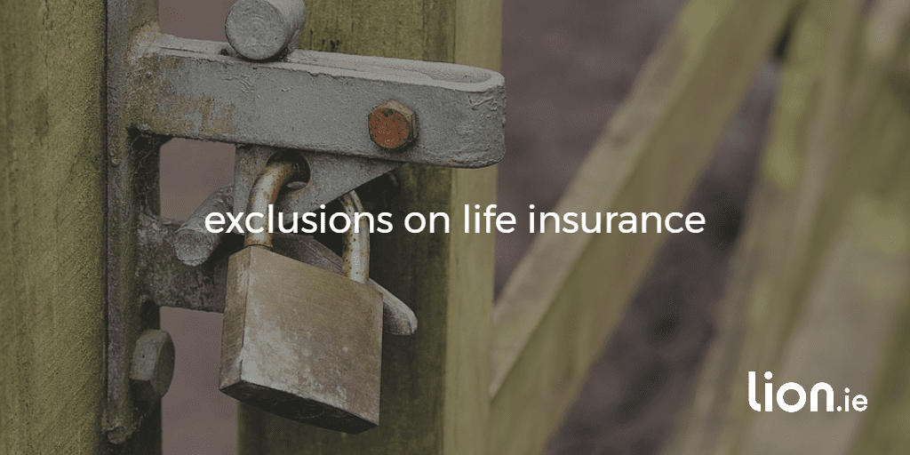 exclusions on life insurance