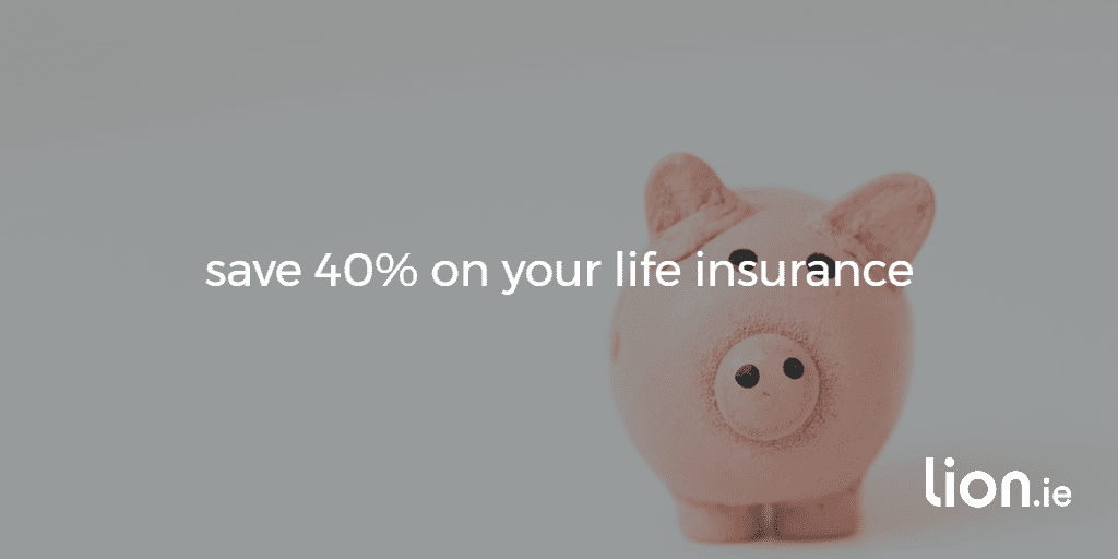 save 40% on life insurance