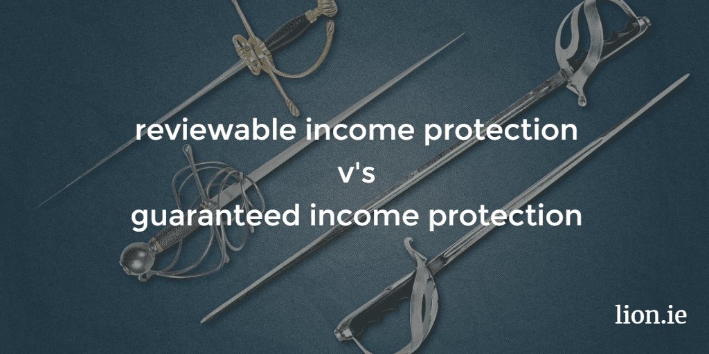 reviewable income protection