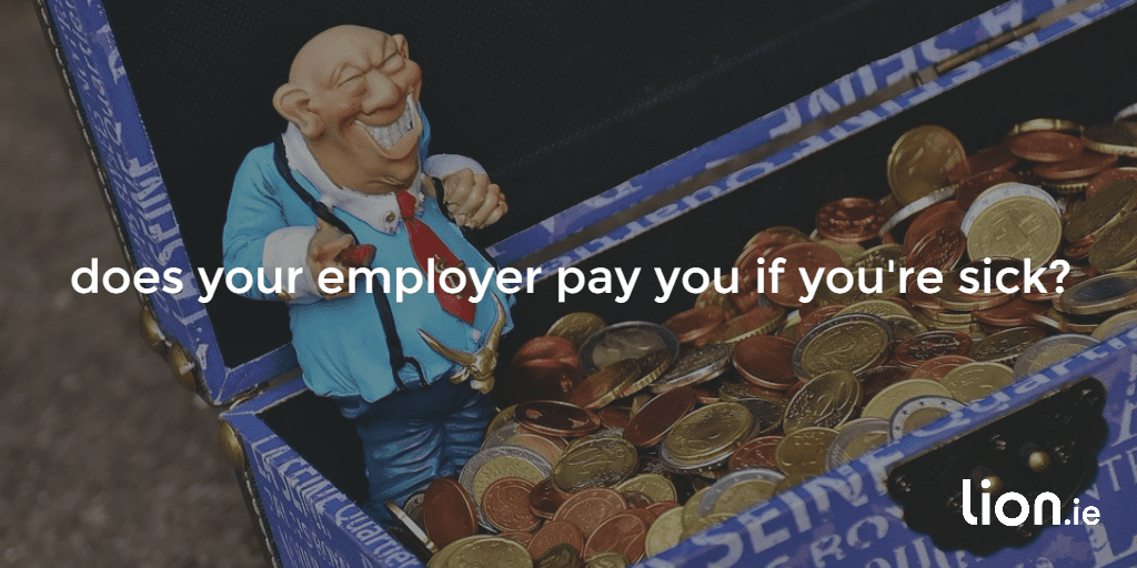 does your employer pay you if you're sick