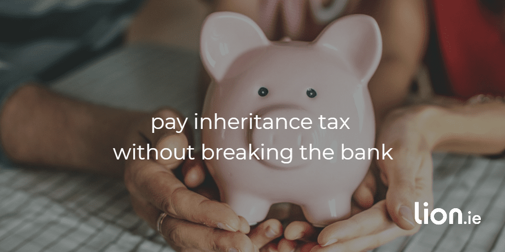 pay inheritance tax without breaking the bank text on image of piggy bank