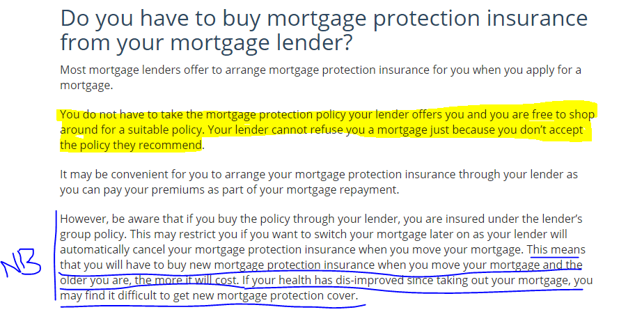 text from https://www.ccpc.ie/consumers/money/insurance/mortgage-protection-insurance/